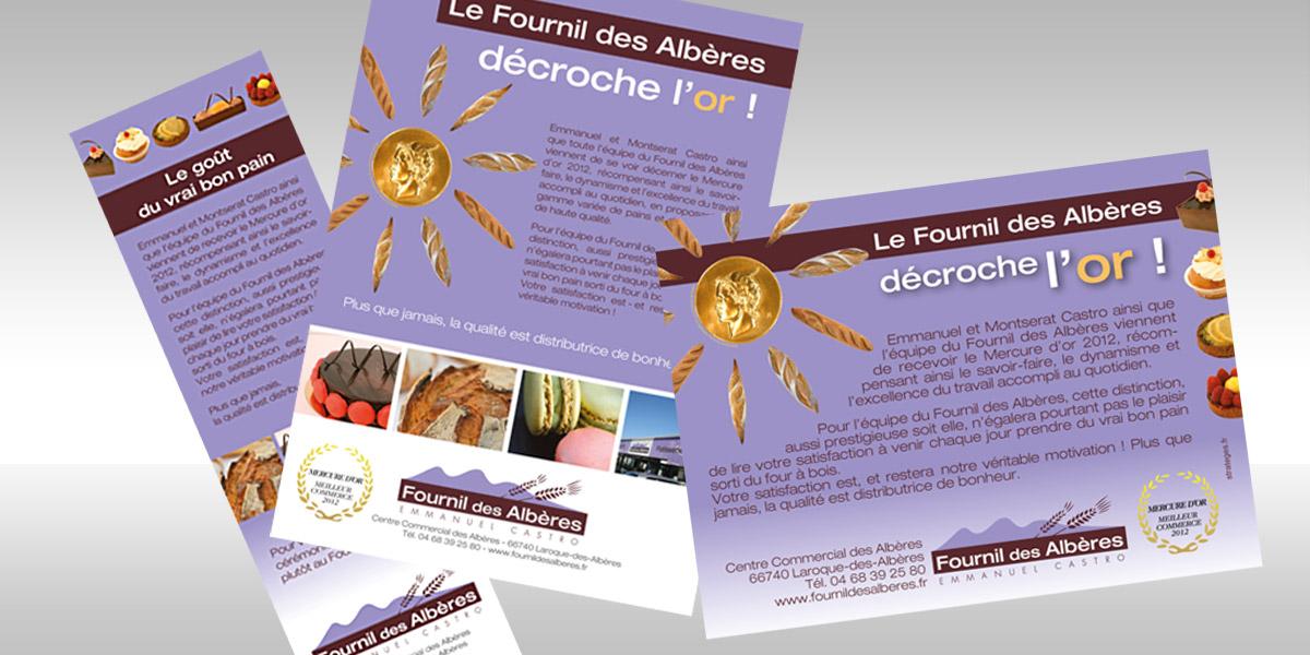Fournil des Albères Mercure d'or