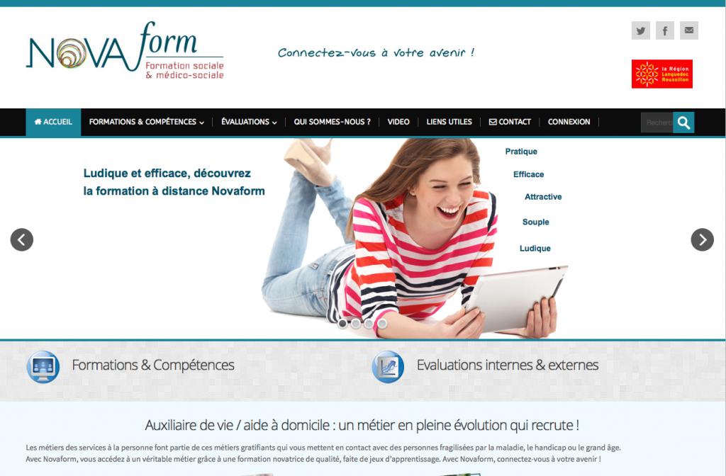 Novaform-site-e-learning