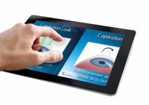 tablette outil de com visuelle