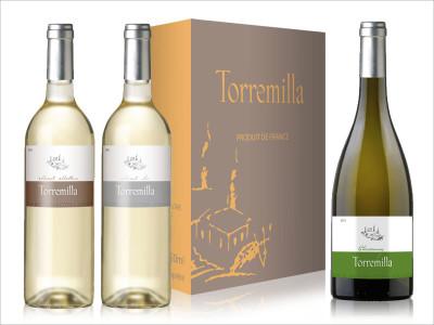 carton et etiquettes gamme Torremilla