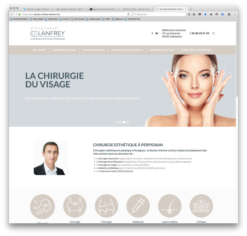 chirurgie esthétique à Perpignan
