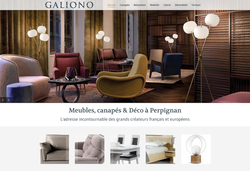 Meubles - canapés - salons à Perpignan - literie - déco - Galiono ...